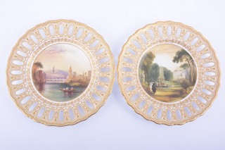 Pair of Copeland cabinet plates