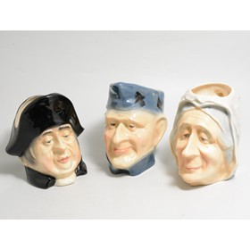 Collection of Beswick Character jugs