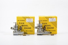 2 x PAW R/C diesels 09 and 19 used